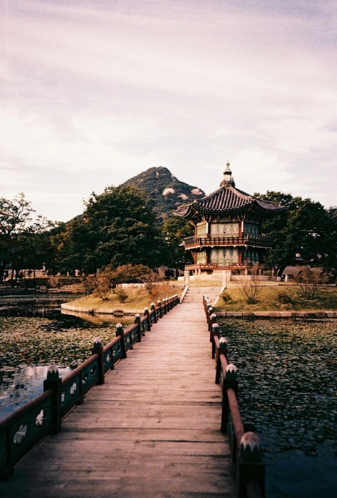 The Pagoda at Gyeongbokgung Palace, South Korea