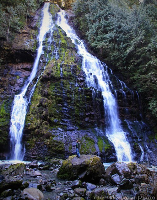 Boulder River Falls, Cascades, Washington