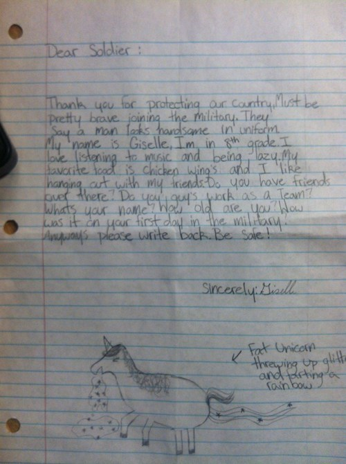 This Soldier Received the Best Letter From Home
