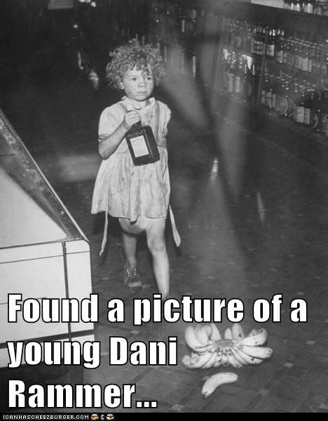 Found a picture of a young Dani Rammer...