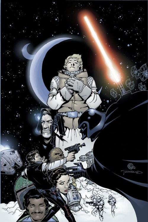 star wars,poster,fan art,The Empire Strikes Back