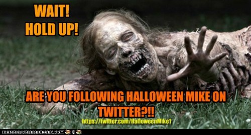 Follow Halloween Mike on Twitter!