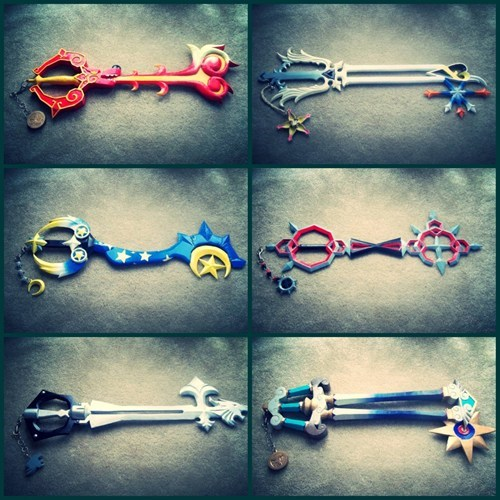 Wouldn't You Love to Have Your Very Own Keyblade?