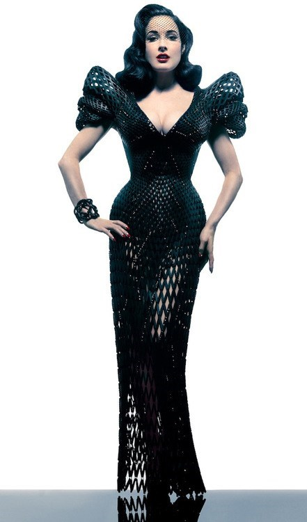 If Style Could Kill: Dita in a 3D-Printed Masterpiece
