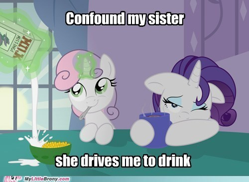 Sweetie Belle is Annoying But Cute