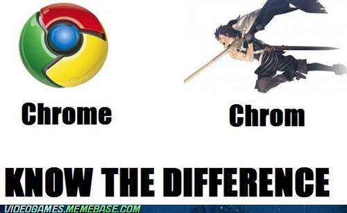 One is a Browser and One is a Fighter