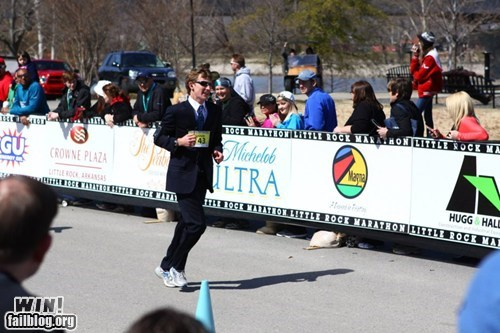Marathon in a Suit WIN