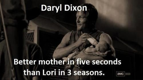Daryl Dixon is an Excellent Mother