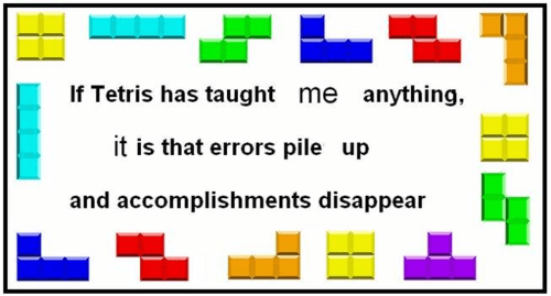 Learning Life Lessons With Tetris