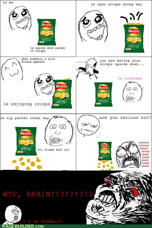Crisp + Douche Brain Rage