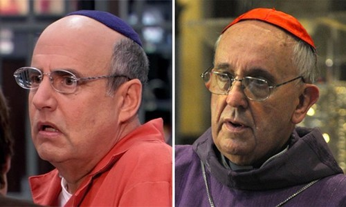 George Bluth Totally Looks Like Pope Francis I