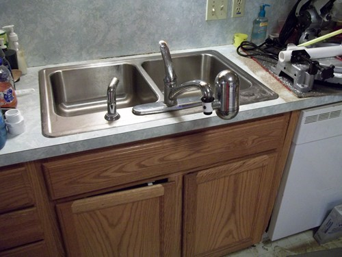 sink,wrong way,faucet,installation,g rated,there I fixed it