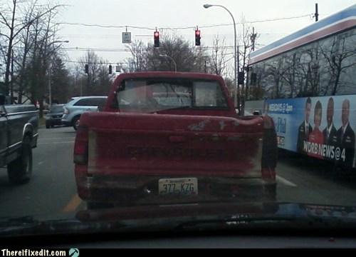 rear window,pickup truck,window fix