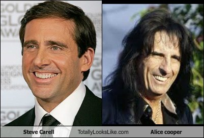 Steve Carell Totally Looks Like Alice Cooper