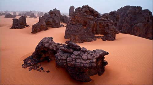 In the Libyan Desert