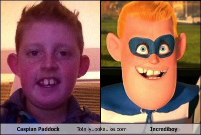 Caspian Paddock Totally Looks Like Incrediboy