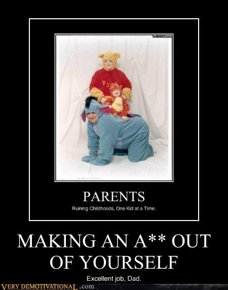 eeyore,winnie the pooh,parents