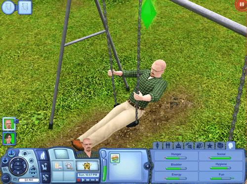 breaking bad,bryan cranston,The Sims