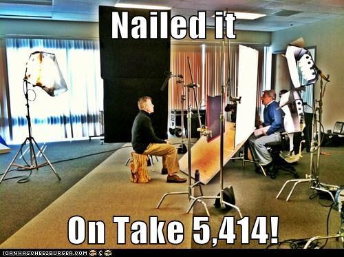 Nailed it  On Take 5,414!