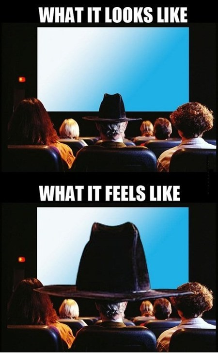 Hats in Theaters