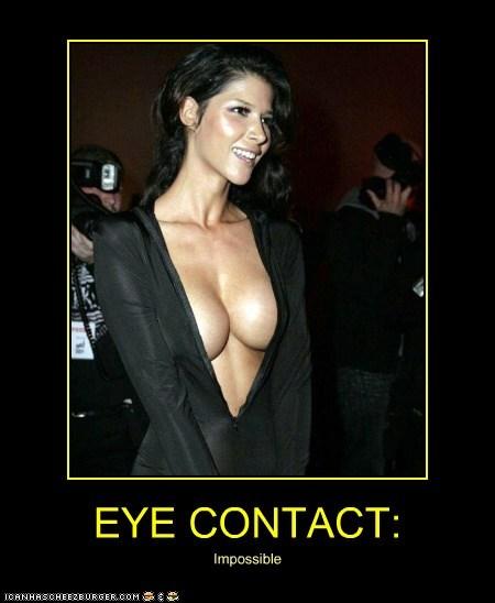 EYE CONTACT: