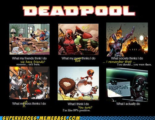 deadpool,what he does
