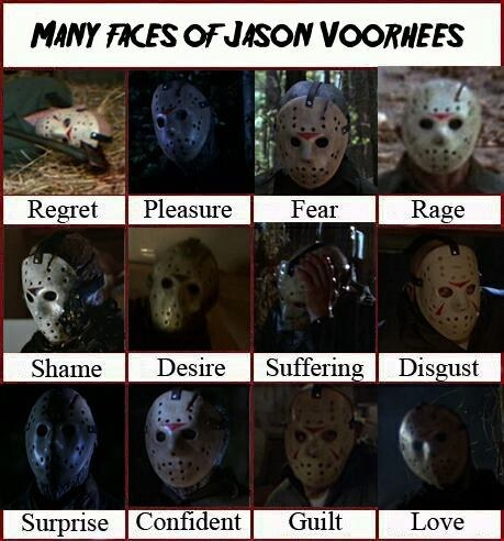 jason,emotions,friday the thirteenth