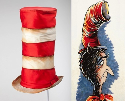 Dr. Seuss, the Mad Hatter: A Peek Inside His Secret Closet