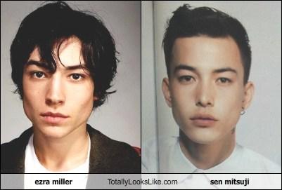 Ezra Miller Totally Looks Like Sen Mitsuji