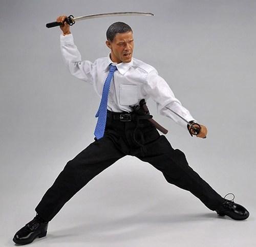 Samurai Obama