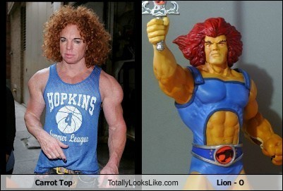 Carrot Top Totally Looks Like Lion - O