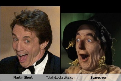 Martin Short Totally Looks Like Scarecrow