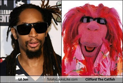 Lil Jon Totally Looks Like Clifford the Catfish