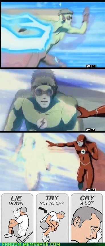 try not to cry,cartoon network,cartoons,the flash