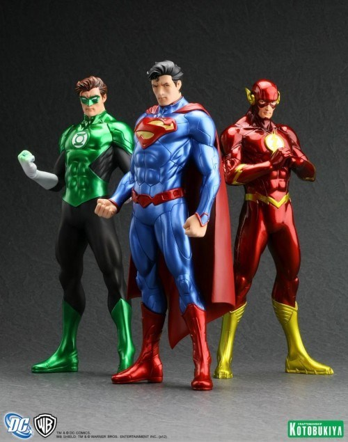 Sculptures From the New 52