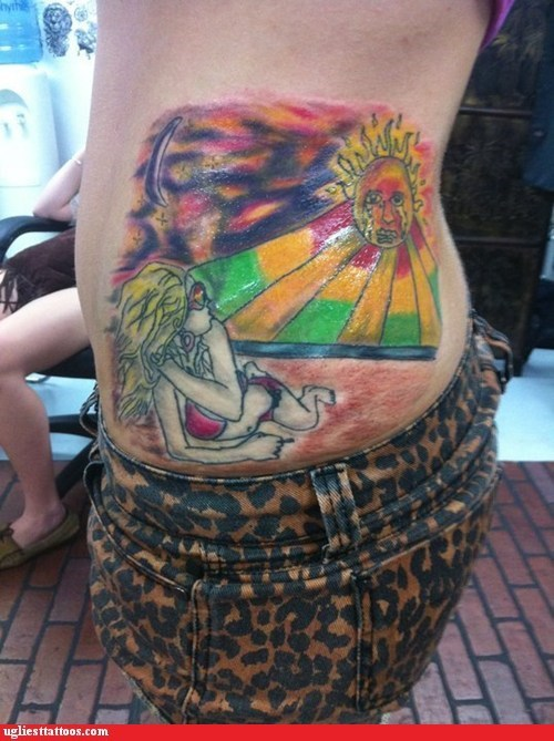 This Tattoo's So Bad, it Made the Sun Cry