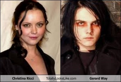 Christina Ricci Totally Looks Like Gerard Way