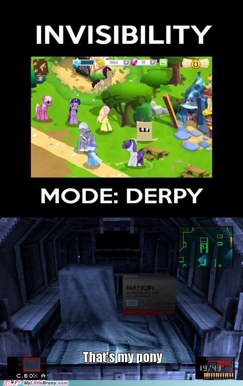 Derpy? Derpy, come in. DERPY! DEEERRRPYYYYY