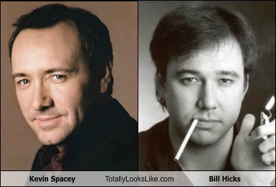 Kevin Spacey Totally Looks Like Bill Hicks