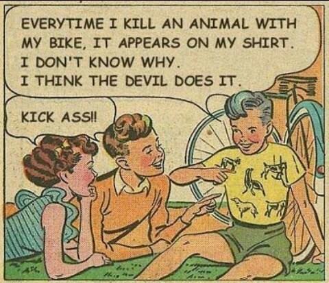 satan,comics,shirts,animals