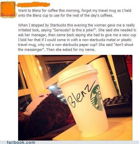 Trolling Starbucks