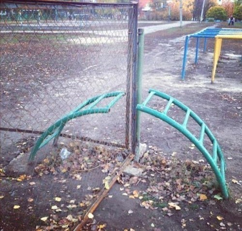Playground Design FAIL