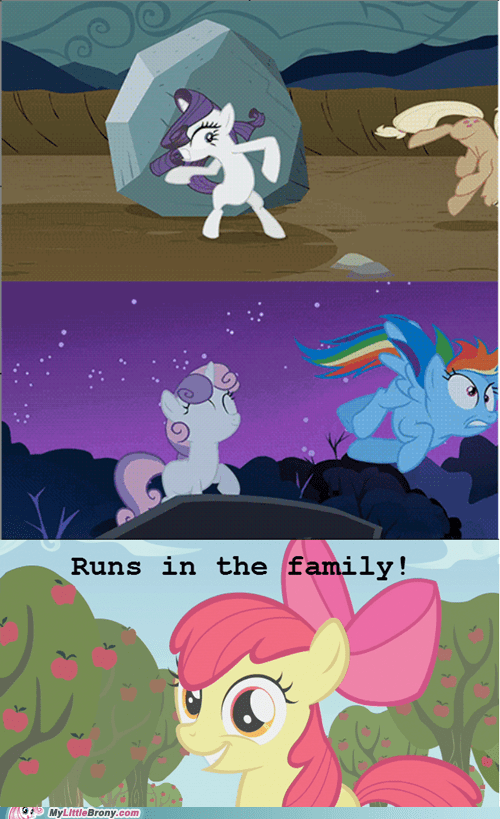 Rarity and Sweetie Belle are best family