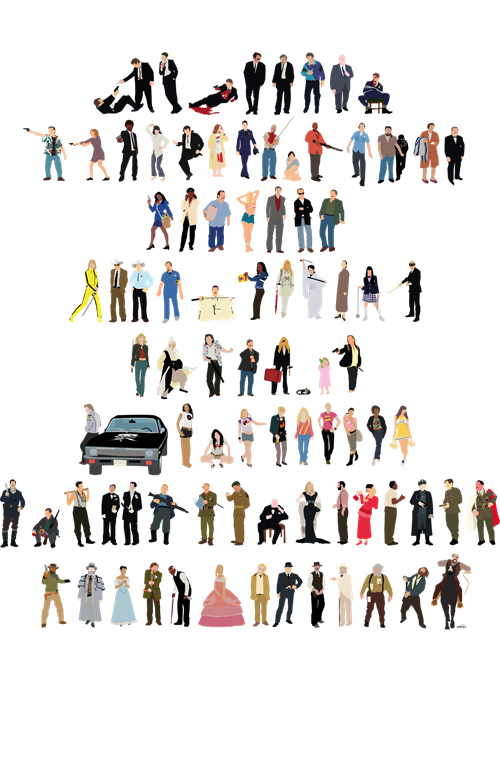 ALL the Characters From Quentin Tarantino Films!