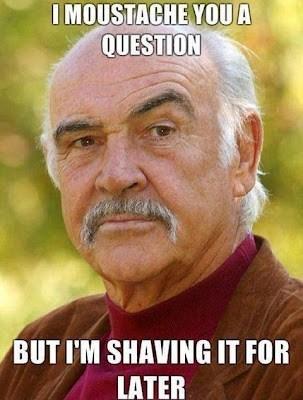 Sean Connery Has a Question