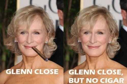 Glenn's Too Close
