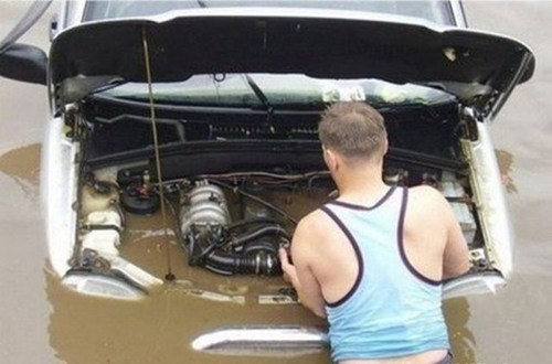 egines,flooded,car repair