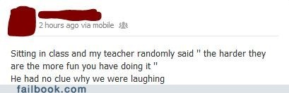 Oh Teacher...