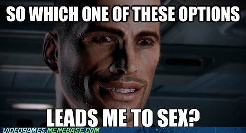 Every Decision in Mass Effect