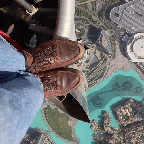 Getting High at the Burj Khalifa